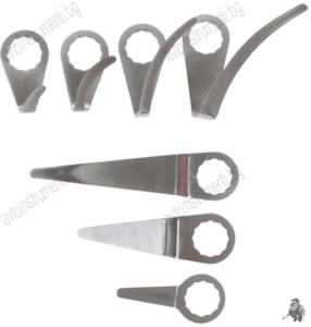 К-кт резервни ножчета за сваляне на автостъкла